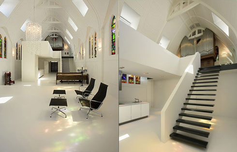 2212481430 ec0c0cffd7 o A Chapel Converted Into a Modern Apartment
