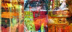 Synthetic Triplet: Tourmaline (Tim Noonan) Tags: street door windows orange abstract colour art collage digital photoshop effects paint triptych artistic expression manipulation montage mixture tourmaline specialeffects enhancement smrgsbord artisticexpression darklands diamondclassphotographer flickrdiamond amazingamateur abstractartaward betterthangood proudshopper syntheticcubism maxfudge awardtree maxfudgeexcellence maxfudgeawardandexcellencegroup daarklands