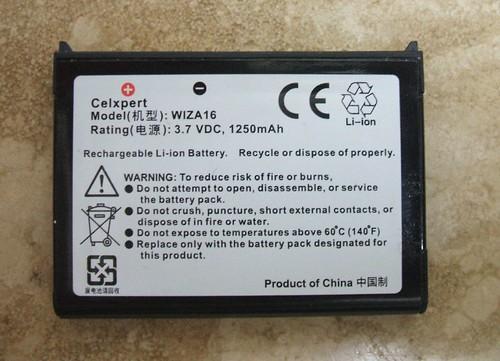 Bateria del HTC Wizard (aka Cingular 8125)