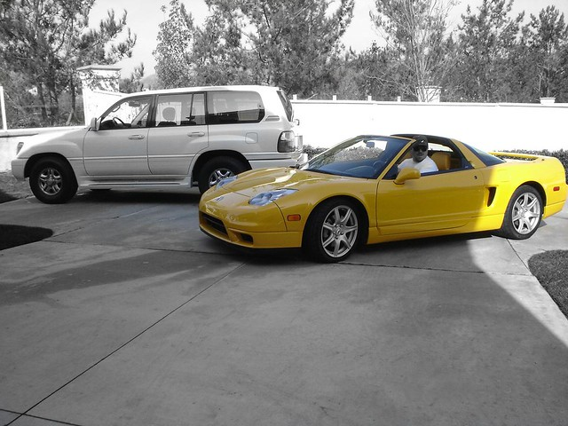 bw white black 2004 yellow photoshop honda photography acura nsx vtec