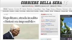 Napolitano: mandato esplorativo ad un blogger?
