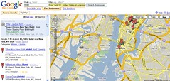Google Maps SERPs