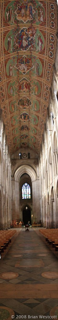 ely cathedral vertical stitch