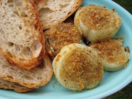 baked onions, italian style