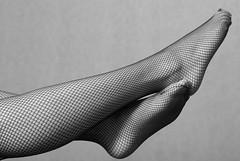 Smooth (Sakuto) Tags: bw woman feet studio legs smooth feets strobist