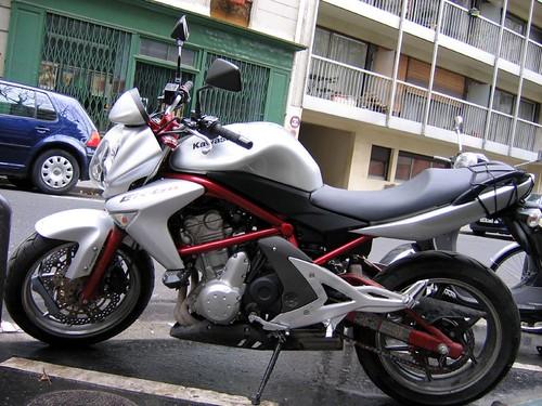 Kawasaki ER-6n,motorcycle, sport motorcycle, classic motorcycle, motorcycle accesorys