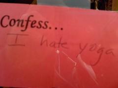 I confess #3