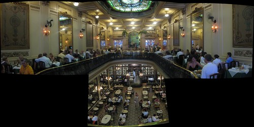 Panorama Inside Rio Restaurant