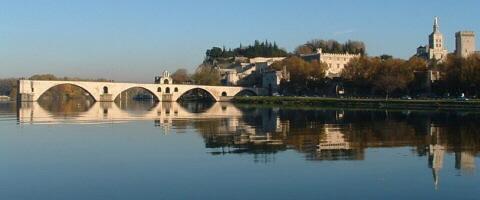 Puente de Aviñón, Francia