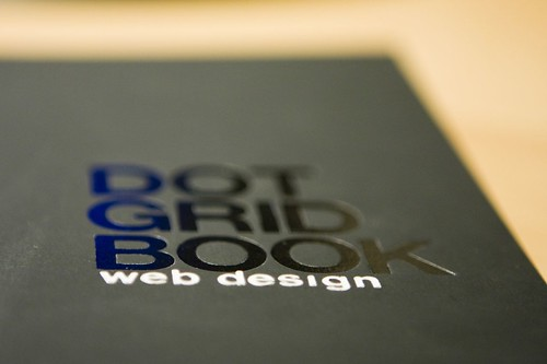 Behance Dot Grid Notebook cover