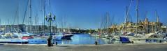 Ta Xbiex Marina (Frank's Flicks) Tags: sea marina yacht masts hdr mediterrenean taxbiex xbiex