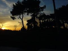Arrokaundieta (Alberto Roura) Tags: cameraphone landscape atardecer twilight alberto guipuzcoa gipuzkoa donibane roura arrokaundieta