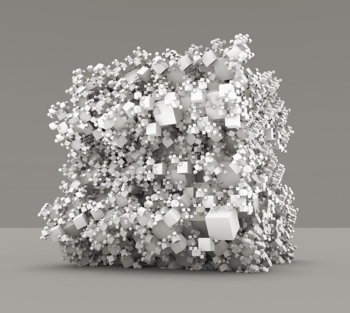Collapsing cube of cubes