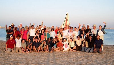 Our dubai team end 2005