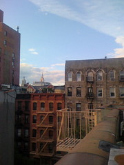 Empire State Building Dwarfed by East Village Buildings