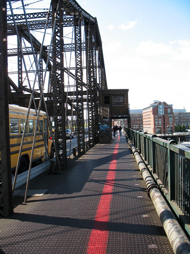 The Freedom Trail Crossing the River