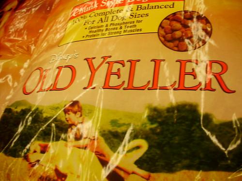 Mmmmmmmm, Old Yeller...