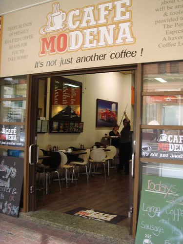 Cafe Modena on Adelaide St