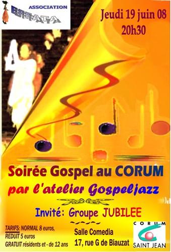 Soirée Gospel à Comedia