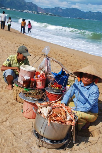 NT beach seafood section