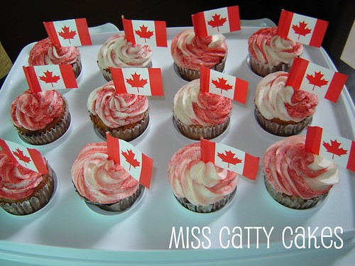 canada day cupcakes. Canada Day cupcakes