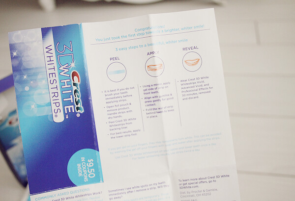 crest whitening strips review
