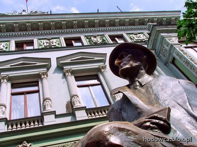 wpis 102, foto 134: Ławeczka Tuwima
