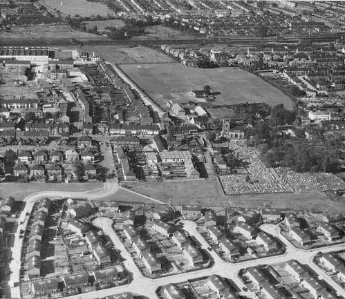 Dagenham Village & Leys Field c1959