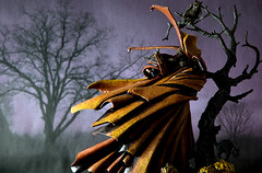 Happy Halloween 2007 (pairadocs) Tags: halloween toy actionfigure comic comicbook spawn mcfarlane hellspawn hamburgerhead pairadocs