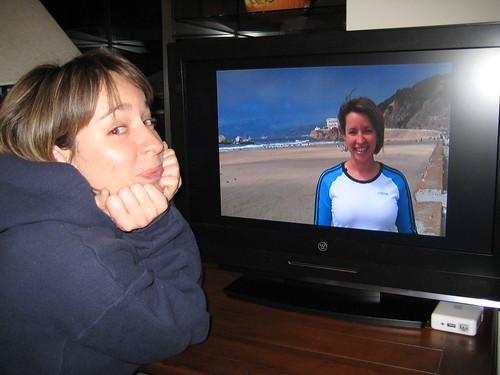 Amy Mac Watching Amy Mac on Tivo