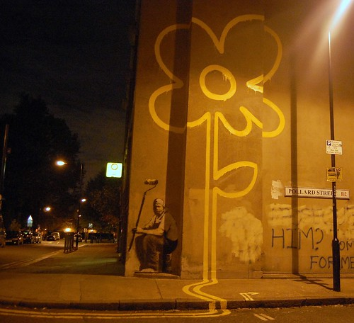 New Banksy Pollard Street