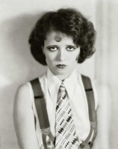 clara bow, for the wild party, 1927 by carbonated