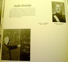Audio Division write up in the 1963 Polaris yearbook