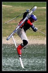 Akrobatick lyovn (pavel conka) Tags: winter ski sport head spot voda trening mustek lyze skoky lyzovani akrobaticke