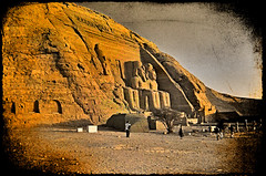 Abu Simbel. Egypt.- (ancama_99(toni)) Tags: africa old trip travel vacation urban house holiday abstract color building art texture church nature sphinx architecture photoshop vintage geotagged temple photography photo interestingness interesting ancient bravo king cross desert pyramid cathedral photos antique religion egypt mosque photographic nile explore textures cairo egyptian temples layers pyramids egipto aswan abstracto giza texturas templo egitto egipte ramsesii egypte italians 2007 1000views afrique abusimbel pharoh ramessesii ramss texturized 10faves egyptien flickrsbest ramsesthegreat 25faves sungods colorphotoaward diamondclassphotographer ancama99 interesantsimo