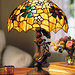 Mary Poppins Stained Glass Lamp