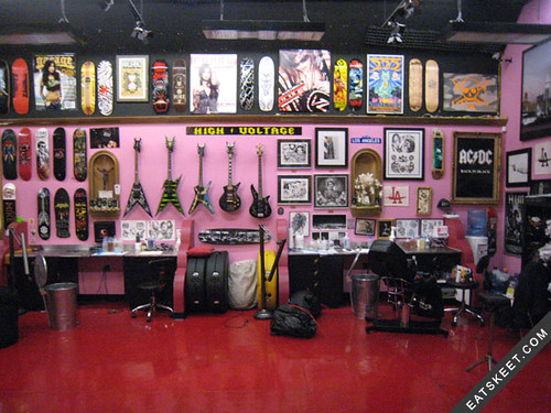 Kat Von D's High Voltage/LA Ink Tattoo Shop: