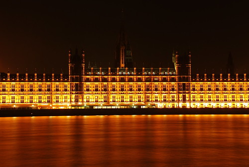 Houses of Parliament at Night 02