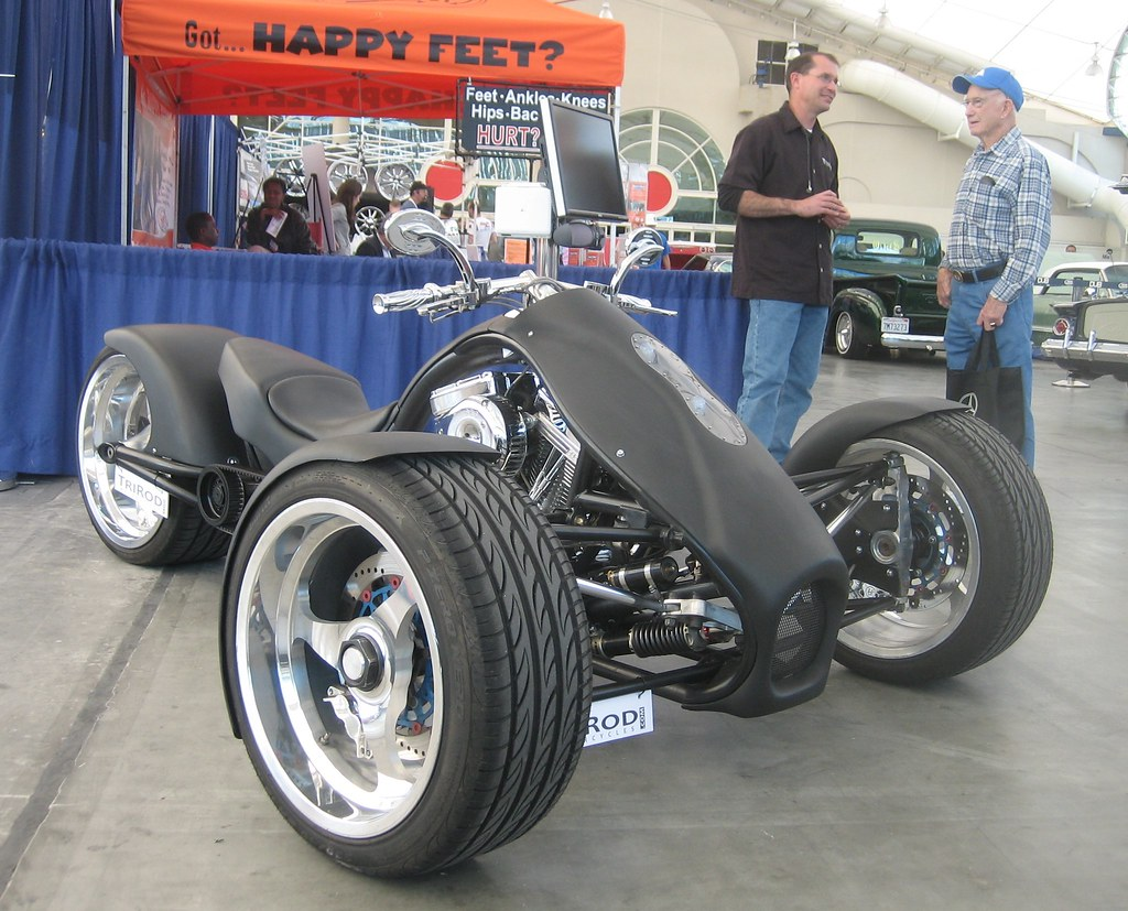 Trirod F3 Adrenaline - Harley Powered Trike  - 2008