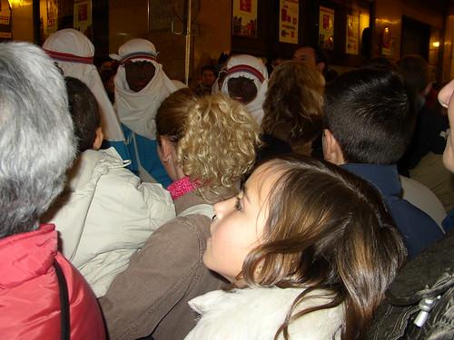 Patri disfrutando con los beduinos