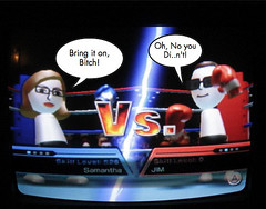 Wii Mii Boxing