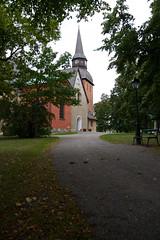 A12667 (davidnaylor83) Tags: blackandwhite bw church sweden steeple sverige eskilstuna kyrka svartvitt sdermanland kyrktorn forskyrka