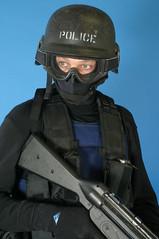 Here Come The Men In Black (swatman67) Tags: hk gun mask rifle helmet goggles police vest grenade protection balaclava swat machinegun kevlar bulletproof tactical so19 hecklerkoch loadbearing bodyarmour co19 chestrig