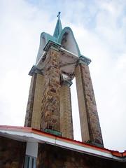 clocher de l'glise Saint-Michel (myrique baumier) Tags: montral belltower saintmichel clocher mtlguessed gwim glisesaintmichel 12eavenue 13eavenue ruesaintelucie