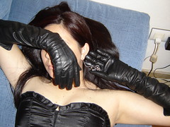 Pendientes (lady_dulciny_boots) Tags: black hot sexy leather topv333