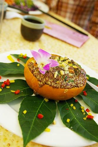[台北]蘭欣庭。庭園蔬食餐廳
