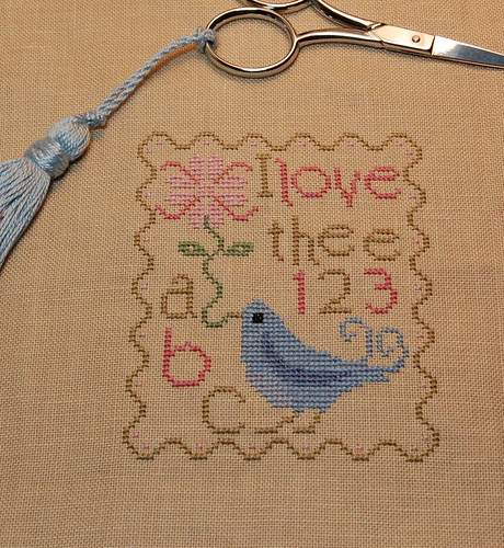 "Midsummer Night Designs ""Lovebird"" Freebie."