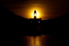 tramonto (mbeo) Tags: sunset church switzerland ticino tramonto campanile posti controluce composizioni flickrsbest viragambarogno mbeo