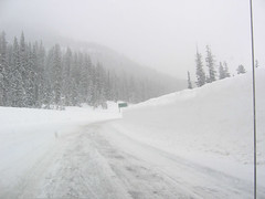 Snow cleared from Wolf Creek Pass