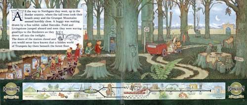 Trumpets in Grumpetland pg. 08-09